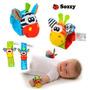 Pulseira Brinquedo Bebê Chocalho De Pelucia Para Pulso 2
