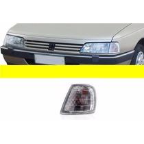 Lanterna Dianteira Peugeot 405 1992/ Cristal Esquerdo