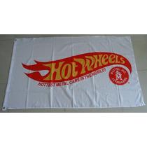Bandera Hot Wheels 1.5por90cm Agencia Club Carreras Coches