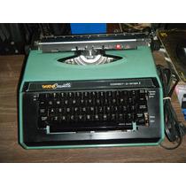 Máquina De Escribir Brother Cassette Eléctrica Funciona 472