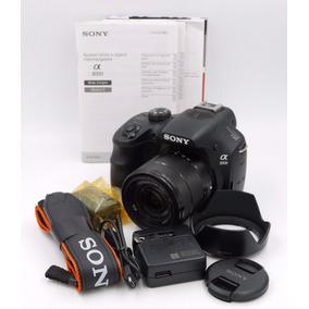 Cámara Sony Alpha A3000 W/ E Oss 18-55mm/ 20.1mp/ Foto+video
