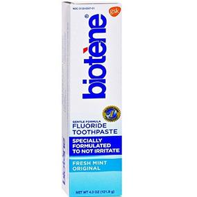 Biotene Fórmula Suave Pasta De Dientes Fluor, Menta Fresca