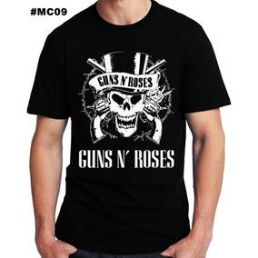 Camiseta De Bandas Guns N Roses Camisa Banda Rock
