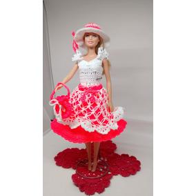 Roupa De Croche Para Boneca Barbie