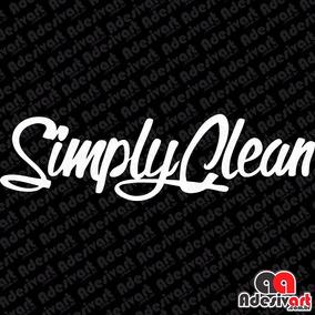 Adesivo Simply Clean Carro Rebaixado Low Automotivo 15cm