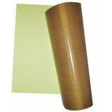 Lençol De Teflon Manta 1mt X 1,2mt Com Adesivo P/ Sublimação