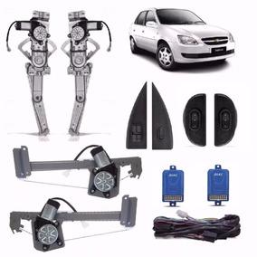 Kit Vidro Eletrico Corsa/wagon/classic 4p Completo