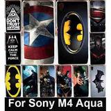 Case Protector Carcasa Para Sony Xperia M4 Aqua Acrilico