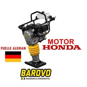 Vibroapisonador Pison Canguro Barovo Motor Honda Gx100 Fuell