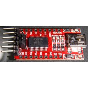 Adaptador Serie Ft232rl 3.3v Y 5.5v Ftdi Usb Arduino