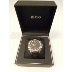 Reloj Hugo Boss 1512767 Clásico Caballero Negro Nuevo