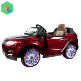 Camioneta A Bateria Land Rover Para Niños Con Mp4