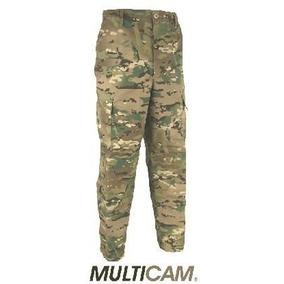 Calça Tática Camuflada Multicam 100% Original Do Us Army