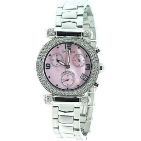 Reloj De Diamantes De Acero Inoxidable Valerie Joe Rodeo Pa