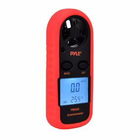 Pyle Anemometro Digital Pma85 Velocidad Viento Temperatura