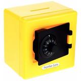 Alcancia Caja Fuerte De Combinacion Color Amarillo H8045