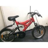 Bicicleta Mtb Aro 16 Niño Altitude Casi Nueva Con Ruedas /