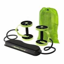Roda C/ Extensor Elástico P/exercícios - Pronta Entrega