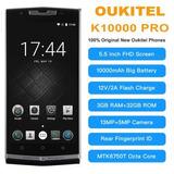En Stock Oukitel K10000 Pro Octa Core Android 7.0 3g Ram 32g