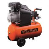 Compresor De Aire Black Decker 24 Lts 2hp Ct24 Para Pintar