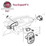 Moldura Marco Tablero Interior Fiat Marea Original®