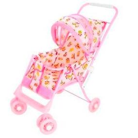 Carrinho De Boneca Bebê Luxo Com Regulagem Pronta Entrega
