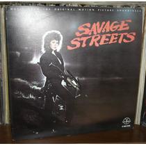 Savage Streets Lp Soundtrack Linda Blair En Portada