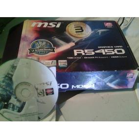 Tarjeta De Video Msi R5450 Ddr3 1gb Pci
