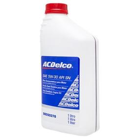 Oleo Lubrificante Motor Acdelco Sintetico Sae 5w30 Sn Semi