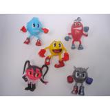 Pac-man Pac Man Pacman Figuras Juguete De Coleccion