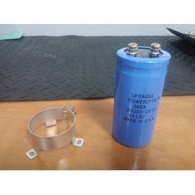 Capacitor Electrolítico Sprague Usa 30000uf 25v