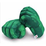 Par De Puños Guantes Gigantes Del Increible Hulk! Disfraz