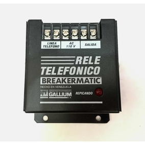 Rele Telefónico Breakermatic Gallium