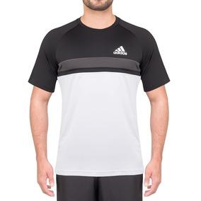 Camiseta adidas Club Td Branca Preta E Cinza 8b192afaa8