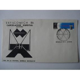 1er Dia De Emisión Exfilcomich Morelia Mich 1988
