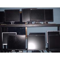 Monitores Lcd Usados 17 Y 15 Pulgadas
