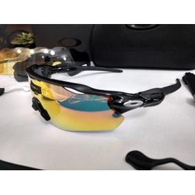 8b6fd75bd Oculos Ciclismo Oakley 3 Lentes - Óculos De Sol no Mercado Livre Brasil