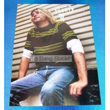 Poster Nirvana Kurt Tamaño 35 X 60 Cm ( Big Bang Rock )