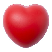 24 Coração De Vinil Anti Stress Fisioterapia Brindes Oferta.