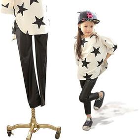 Calzas Engomadas De Nena Del 4 Al 14