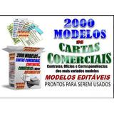 2000 Modelos Cartas,contratos,documentos Diversos Editavél