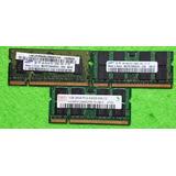 Memoria Ram Ddr2 1gb 667 800 Mhz Hynix Samsung Adata Laptop