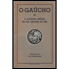 Livro - Álbum Desenhos - O Gaúcho - Lutzenberger