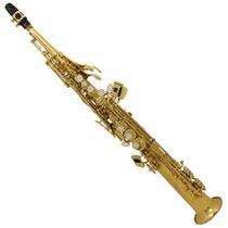 Benson Saxo Soprano Ft6433l Si B - C/ Llave De F# Cuerpo Dor
