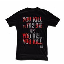Excelente Remera The Walking Dead - Algodon Calidad 100%