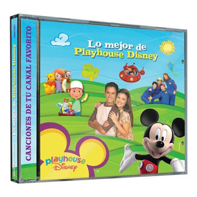 Cd - Lo Mejor De Playhouse Disney