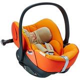 Recien Nacido Auto Asiento Marca Cybex Color Naranja