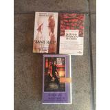 Annie Hall-amor Sin Barreras-pulp Ficción En Vhs Sin Uso !!