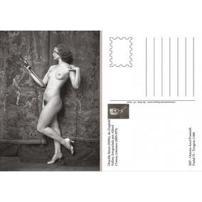 Postal Nu Artístico Atriz Drucilla Strain Edição 2017