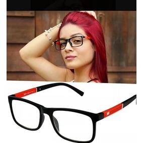 Armação Óculos De Grau Rb5001 + Lentes Longe + Frete Grátis 874c8b8857